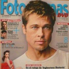 Coleccionismo de Revistas y Periódicos: FOTOGRAMAS / Nº 1987 / MAYO 2009 / PORTADA: BRAD PITT. Lote 79789541