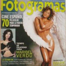 Coleccionismo de Revistas y Periódicos: FOTOGRAMAS / Nº 1883 / SEPTIEMBRE 2000 / PORTADA JENNIFER LOPEZ. Lote 79896813