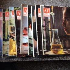Coleccionismo de Revistas y Periódicos: REVISTA ARTE FOTOGRÁFICO. LOTE 10 NÚMEROS DE 1965. 157 158 159 160 161 162 163 164 165 167. Lote 80013858