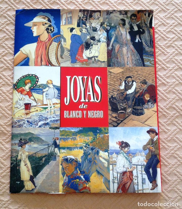 CARPETA COLECCION DE LÁMINAS JOYAS DEL BLANCO Y NEGRO- 12- FIRMAS CONOCIDAS- MUY BUEN ESTADO- (Coleccionismo - Revistas y Periódicos Modernos (a partir de 1.940) - Otros)
