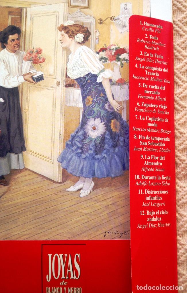 Coleccionismo de Revistas y Periódicos: Carpeta coleccion de láminas JOYAS DEL BLANCO Y NEGRO- 12- Firmas conocidas- Muy buen estado- - Foto 2 - 80111081