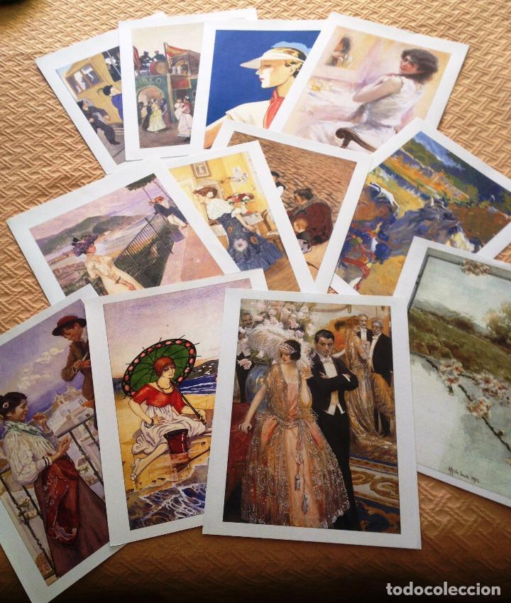 Coleccionismo de Revistas y Periódicos: Carpeta coleccion de láminas JOYAS DEL BLANCO Y NEGRO- 12- Firmas conocidas- Muy buen estado- - Foto 3 - 80111081