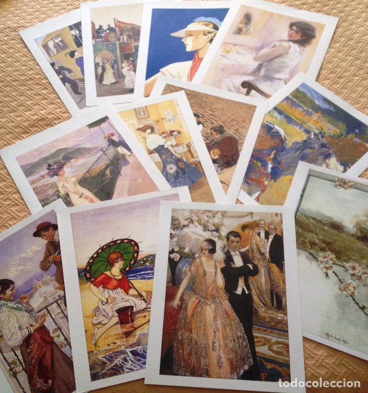 Coleccionismo de Revistas y Periódicos: Carpeta coleccion de láminas JOYAS DEL BLANCO Y NEGRO- 12- Firmas conocidas- Muy buen estado- - Foto 4 - 80111081