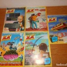 Coleccionismo de Revistas y Periódicos: LOTE DE 5 REVISTA MICROMANÍA NºS 1985 ZX SPECTRUM AMSTRAD COMMODORE MSX DIFICILES!!!! B.E.. Lote 80126129