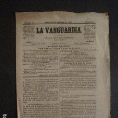 Coleccionismo de Revistas y Periódicos: LA VANGUARDIA-PERIODICO REPUBLICANO FEDERALISTA-NUM.11 -BARCELONA 15 ENERO 1869-VER FOTOS - (V-9739). Lote 80140461