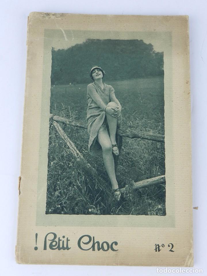 REVISTA PETIT CHOC, N. 2, TIENE 32 PAGINAS DE FOTOGRAFIAS EROTICAS DE MUJER