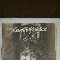 Coleccionismo de Revistas y Periódicos: MUNDO GRAFICO - 1923. Lote 73585683