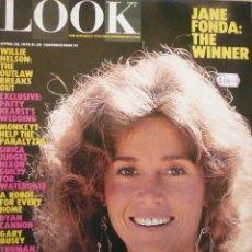 Coleccionismo de Revistas y Periódicos: LOOK / 30 ABRIL 1979 / PORTADA: JANE FONDA. Lote 80337473