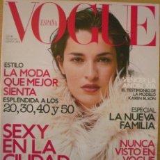 Coleccionismo de Revistas y Periódicos: VOGUE - ESPAÑA / Nº 176 / NOVIEMBRE 2002 . Lote 80338965