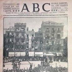 Coleccionismo de Revistas y Periódicos: Nº 1101 ABC 11 JUNIO 1908. REUS HOMENAJE A PRIM. TOROS REIMS FRANCIA. Lote 80383537