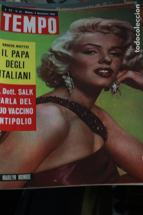 GINA LOLLOBRIGIDA MARILYN MONROE ZSA ZSA GABOR SOPHIA LOREN 1958 (Coleccionismo - Revistas y Periódicos Modernos (a partir de 1.940) - Otros)