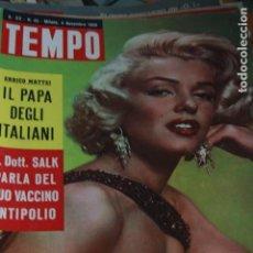 Coleccionismo de Revistas y Periódicos: GINA LOLLOBRIGIDA MARILYN MONROE ZSA ZSA GABOR SOPHIA LOREN 1958. Lote 80455893
