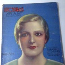 Coleccionismo de Revistas y Periódicos: LECTURAS ABRIL 1935. Lote 80481630