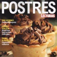 Coleccionismo de Revistas y Periódicos: LECTURAS POSTRES N. 21 - EN PORTADA: NUEVAS IDEAS CON CHOCOLATE (NUEVA). Lote 176644929