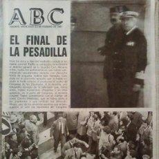 Coleccionismo de Revistas y Periódicos: PERIODICO ABC GOLPE DE ESTADO FEBRERO DE 1981. Lote 80667442