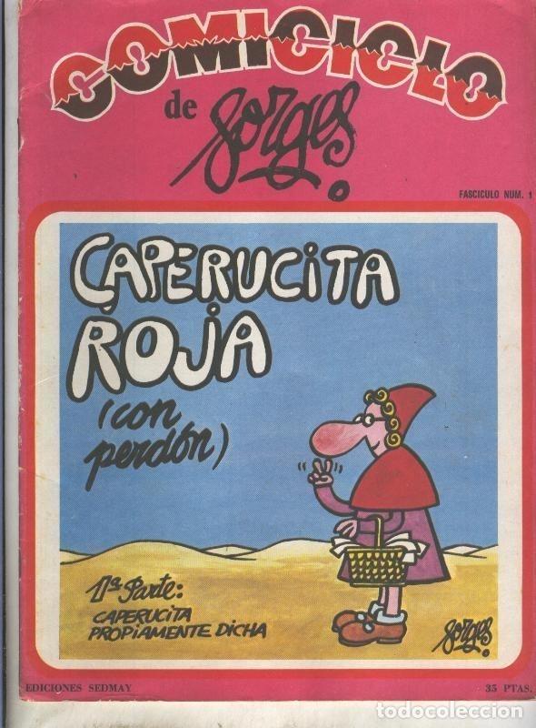 COMICICLO DE FORGES NUMERO 01: CAPERUCITA ROJA (Coleccionismo - Revistas y Periódicos Modernos (a partir de 1.940) - Otros)