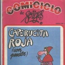 Coleccionismo de Revistas y Periódicos: COMICICLO DE FORGES NUMERO 01: CAPERUCITA ROJA. Lote 80725378