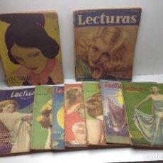Coleccionismo de Revistas y Periódicos: LOTE REVISTAS LECTURAS. Lote 80739066
