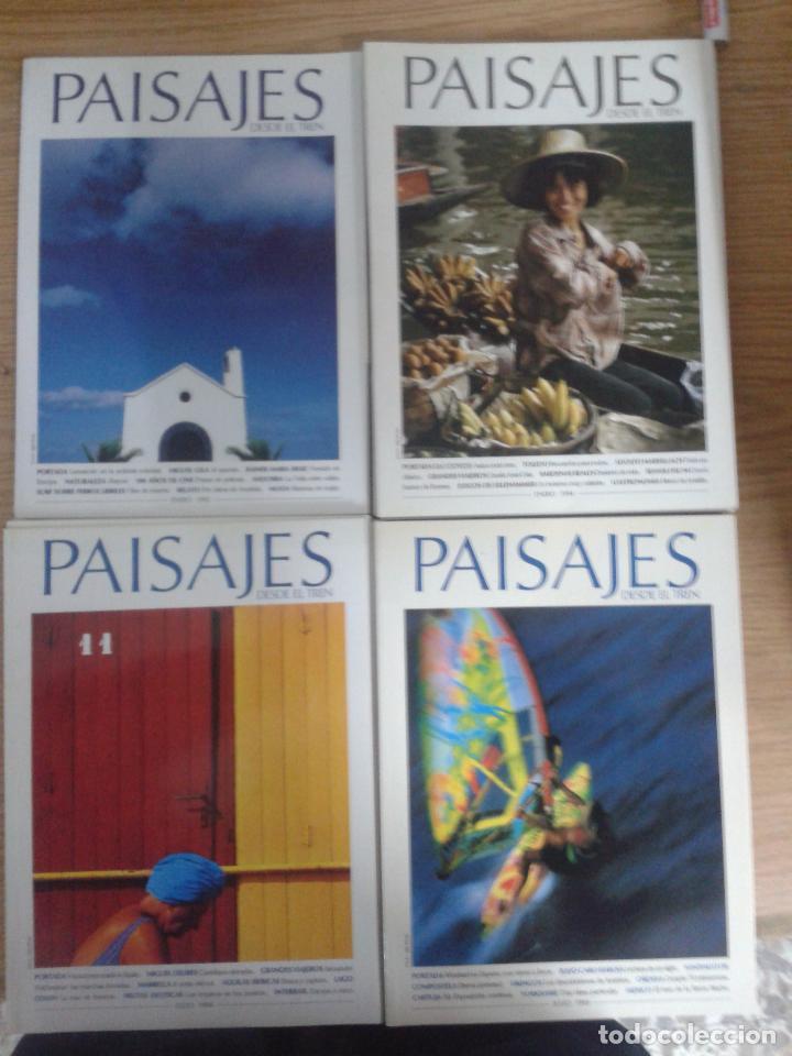 PAISAJES DESDE EL TREN. 20 REVISTAS (Coleccionismo - Revistas y Periódicos Modernos (a partir de 1.940) - Otros)