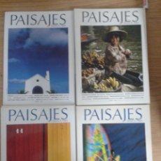 Coleccionismo de Revistas y Periódicos: PAISAJES DESDE EL TREN. 20 REVISTAS. Lote 81014784