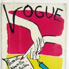 Coleccionismo de Revistas y Periódicos: VOGUE. MARS 1950. PORTADA: KEOGH. FRANCES. ORIGINAL. DOISNEAU. Lote 81103196