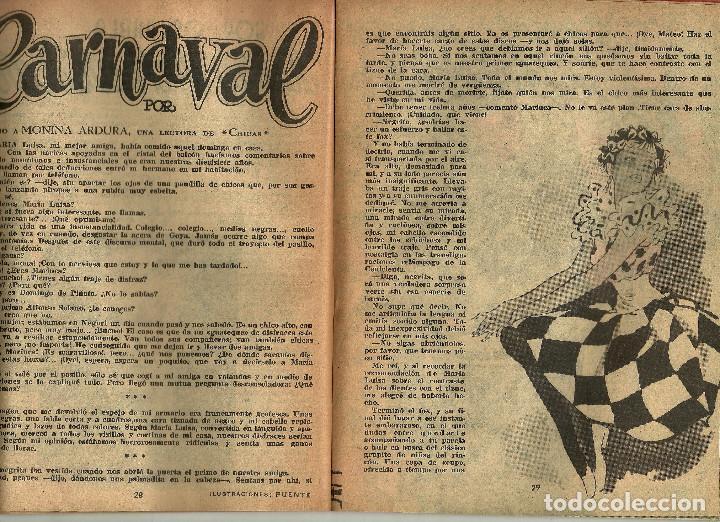 Coleccionismo de Revistas y Periódicos: REVISTA CHICAS - LA REVISTA DE LOS 17 AÑOS - Nº 145 - AÑO 1953 - Foto 5 - 81131064
