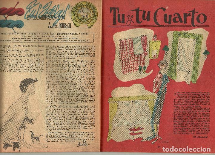 Coleccionismo de Revistas y Periódicos: REVISTA CHICAS - LA REVISTA DE LOS 17 AÑOS - Nº 145 - AÑO 1953 - Foto 6 - 81131064