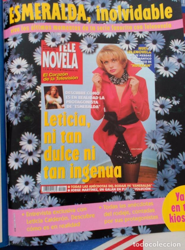 LETICIA CALDERON ESMERALDA (Coleccionismo - Revistas y Periódicos Modernos (a partir de 1.940) - Otros)