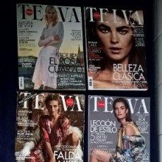 Coleccionismo de Revistas y Periódicos: LOTE REVISTAS TELVA - 5 UNIDADES - PERFECTO ESTADO. Lote 81389552