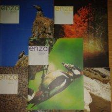Coleccionismo de Revistas y Periódicos: REVISTA ENZA. 5 REVISTAS. Lote 81660180