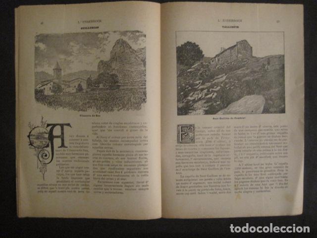 Coleccionismo de Revistas y Periódicos: L´ENDERROCH -ARTS PATRIA DEMOCRACIA-GIRONA 1902 - NUM. 4-HOJAS SIN CORTAR-VER FOTOS-(V- 10.203) - Foto 7 - 81678612