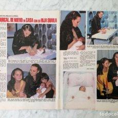 Coleccionismo de Revistas y Periódicos: REPORTAJE - ROCÍO DÚRCAL Y SHAILA - 1979. Lote 81854488