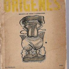 Coleccionismo de Revistas y Periódicos: ORIGENES. REVISTA DE ARTE Y LITERATURA. LA HABANA. 1953. Nº 33. VER SUMARIO. Lote 81868768