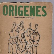 Coleccionismo de Revistas y Periódicos: ORIGENES. REVISTA DE ARTE Y LITERATURA. LA HABANA. 1956. Nº 40. VER SUMARIO. Lote 81868988