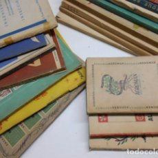 Coleccionismo de Revistas y Periódicos: ALMANAQUE DE AGROMAN: LOTE 18 AÑOS 1942-1960 (FALTA EL AÑO 1943) DIFERENTES TAMAÑOS.. Lote 81894220