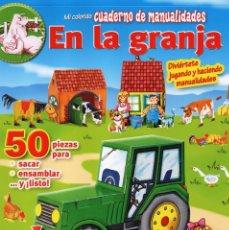 Coleccionismo de Revistas y Periódicos: CUADERNO DE MANUALIDADES N. 20 - EN LA GRANJA (NUEVA). Lote 82060872