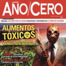 Coleccionismo de Revistas y Periódicos: AÑO CERO N. 319 - EN PORTADA: ALIMENTOS TOXICOS (NUEVA). Lote 179110281