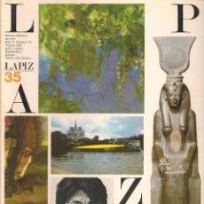 Coleccionismo de Revistas y Periódicos - REVISTA DE ARTE LÁPIZ. Nº 35. VERANO 1986. (ST/REVISTAS) - 82103912