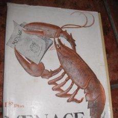 Coleccionismo de Revistas y Periódicos: ANTIGUA REVISTA MENAGE , Nº 34 AÑO III 1933 . RECETAS COCINA Y PASTELERIA MODERNA PUBLICIDAD VALES. Lote 82162932