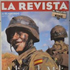 Coleccionismo de Revistas y Periódicos: LA REVISTA DE EL MUNDO, Nº 29. 5 MAYO 1996. ADIÓS A LA MILI. Lote 82293532