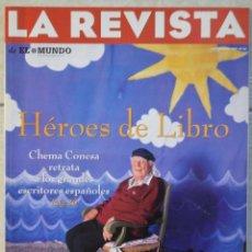 Coleccionismo de Revistas y Periódicos: LA REVISTA DE EL MUNDO, Nº 33. 2 JUNIO 1996. HÉROES DE LIBRO. Lote 82294388