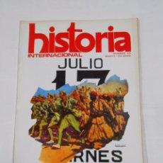 Coleccionismo de Revistas y Periódicos: REVISTA HISTORIA INTERNACIONAL Nº 8. NOVIEMBRE 1975.17 DE JULIO MOROS EN LA CRUZADA. TDKR34. Lote 82405524
