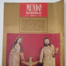 Colecionismo de Revistas e Jornais: MUNDO HISPÁNICO, Nº 297, DICIEMBRE DE 1972. SIERRA NEVADA. PÍO BAROJA. Lote 82505880