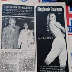 Coleccionismo de Revistas y Periódicos: CURD JURGENS. Lote 218641758