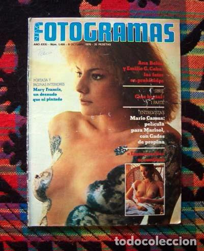 Revista Fotogramas Paca Gabaldon Mary Francis Ana Belen Marisol Antonio Gades Sylvia Kristel