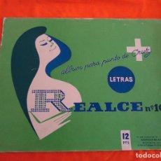 Coleccionismo de Revistas y Periódicos: REVISTA PUNTO DE CRUZ, LETRAS, ED. REALCE, Nº. 103, 1960.. Lote 82891404