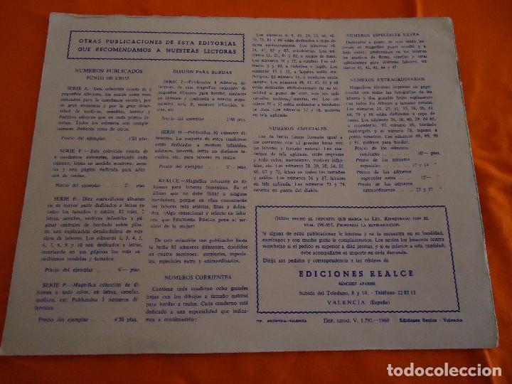 Coleccionismo de Revistas y Periódicos: REVISTA PUNTO DE CRUZ, LETRAS, ED. REALCE, Nº. 103, 1960. - Foto 3 - 82891404