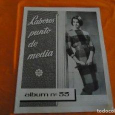 Coleccionismo de Revistas y Periódicos: REVISTA PUNTO DE MEDIA, ED. TERESA MASUET, ALBUM Nº. 33, DL. B 2466- 1961. Lote 82891724