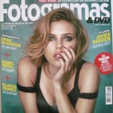 Coleccionismo de Revistas y Periódicos: FOTOGRAMAS Nº 2023 / MAYO 2012 / PORTADA: SCARLETT JOHANSSON. Lote 82957844