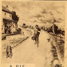 Coleccionismo de Revistas y Periódicos: MENDEZ BRINGA ILUSTRACION HOJA REVISTA. Lote 82990612